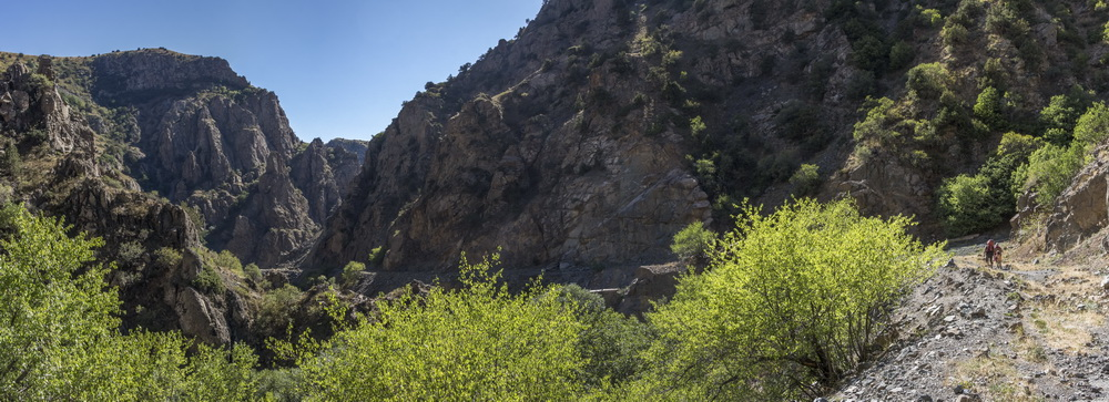 Каньон реки Арпа
