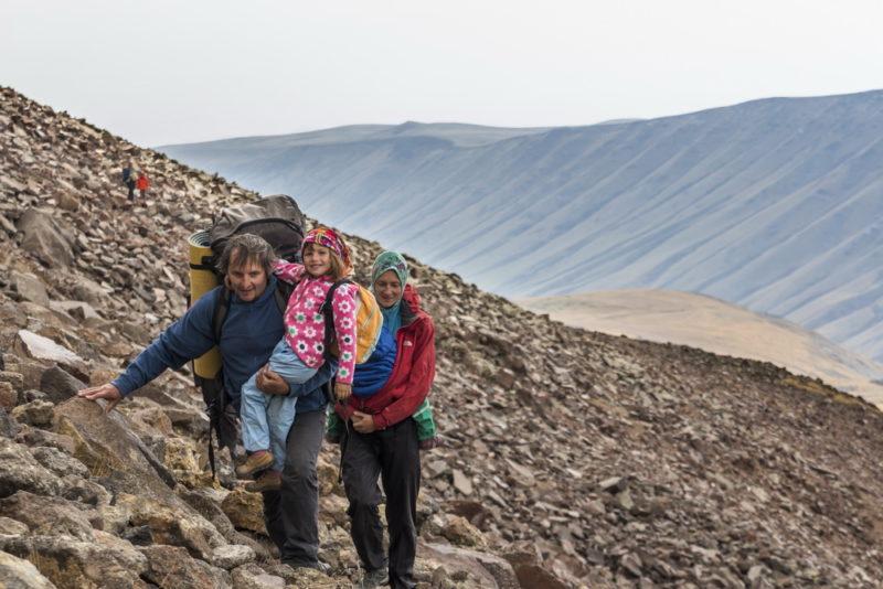 В горы с ребенком