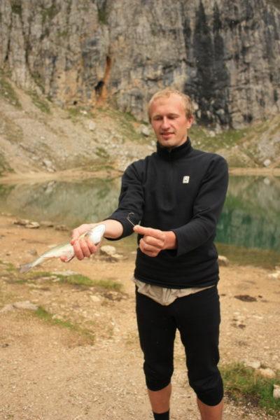 Рыбалка в Доломитах