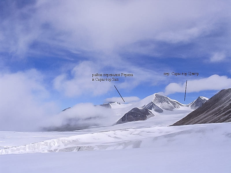 Вид на северную ветвь лед. Петрова