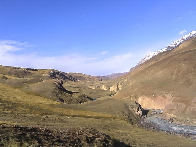 Долина реки Сарычат