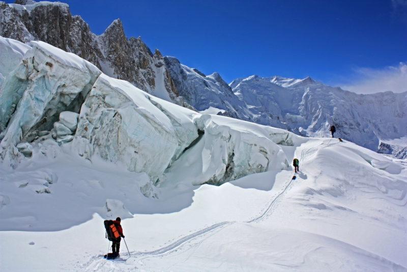 На леднике Абдукагор