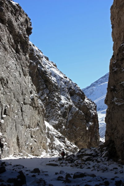 Нижний каньон Сауксая