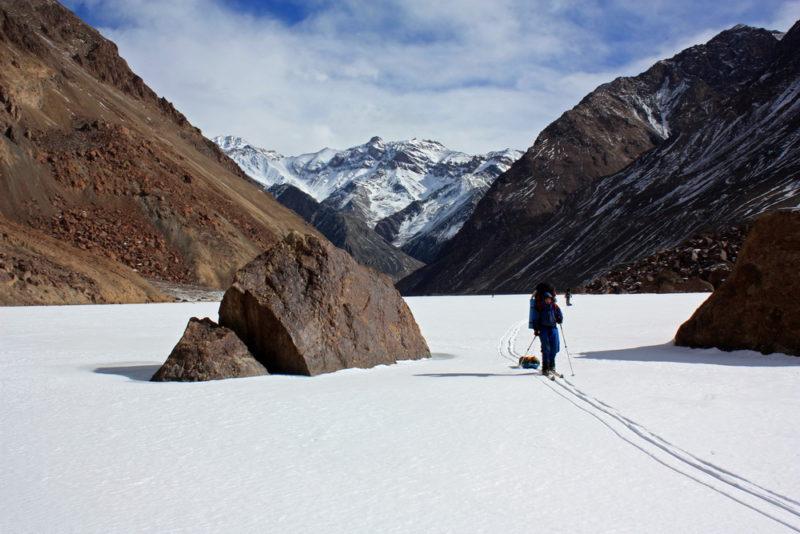 по Памиру на лыжах