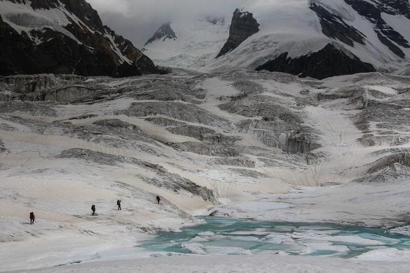 Верховья ледника Сугран