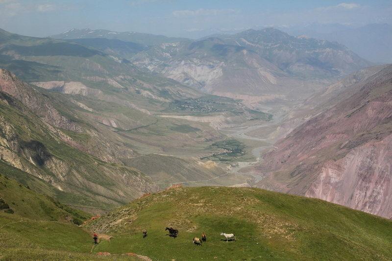 Долина реки Муксу