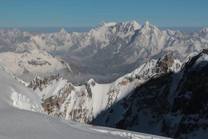 Панорама памирских вершин