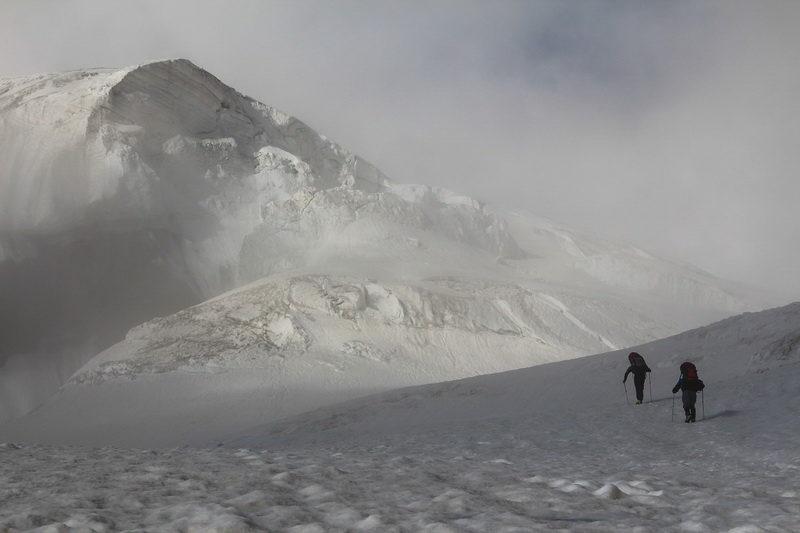 На леднике Шагазы