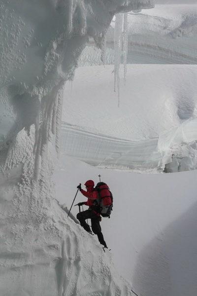 Прохождение ледопада