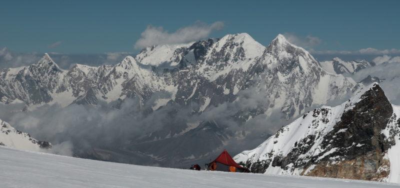 Лагерь на Памире