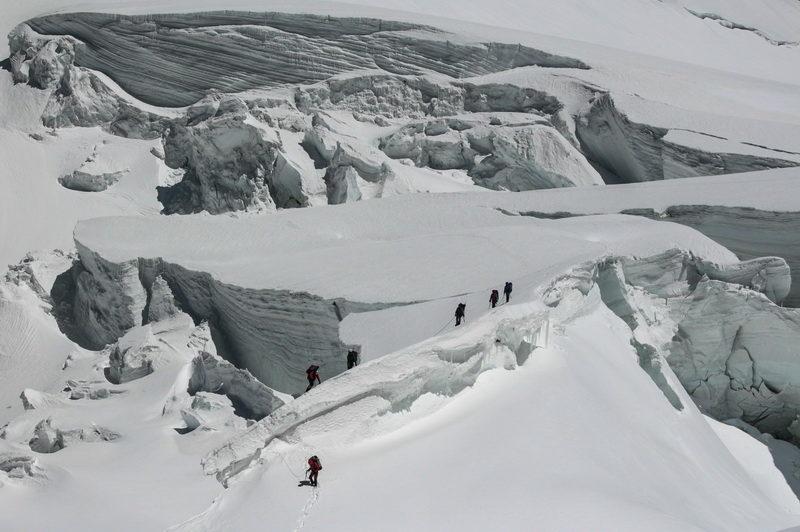 В ледопаде