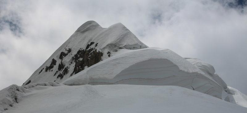 Вершина пика Тиндаля