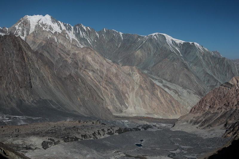 Слияние ледников Вальтера и Фортамбека