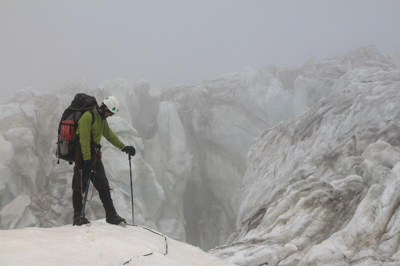 В ледопаде Кашал-Аяк