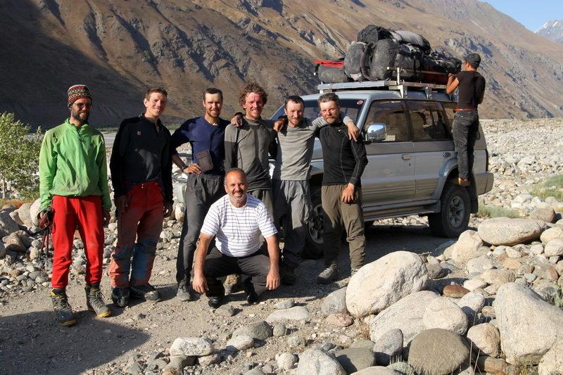 Встреча с водителем в долине Ванча