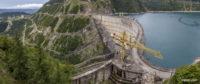 Панорама Ингурской ГЭС