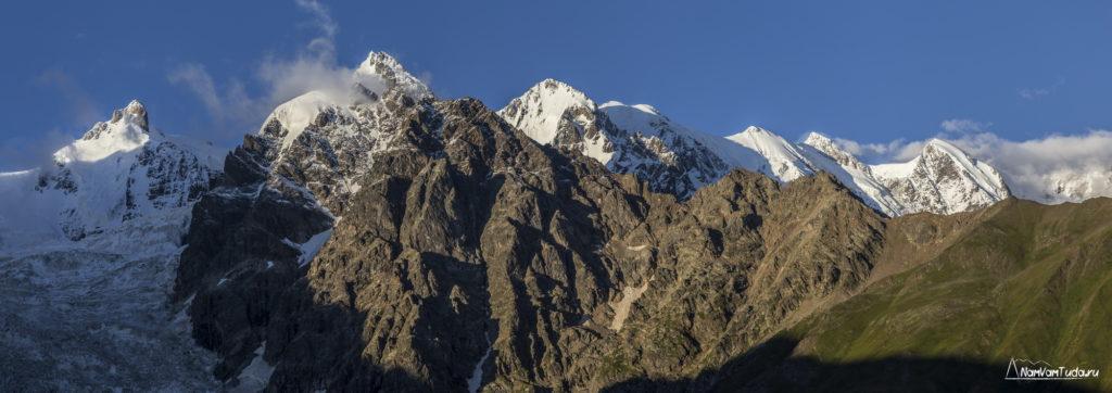 Главный кавказский хребет из Сванетии