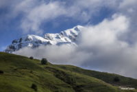 Тетнульд в облаках