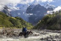 На лошади через Адиши