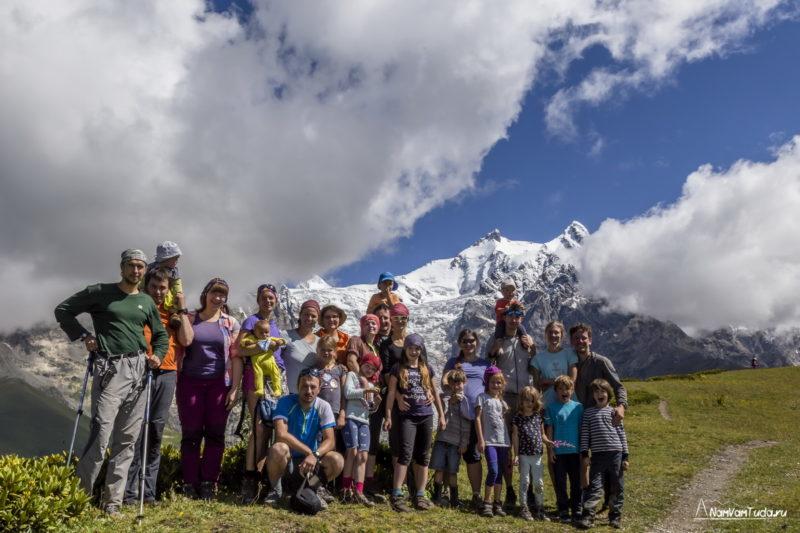 На перевале Чхундери