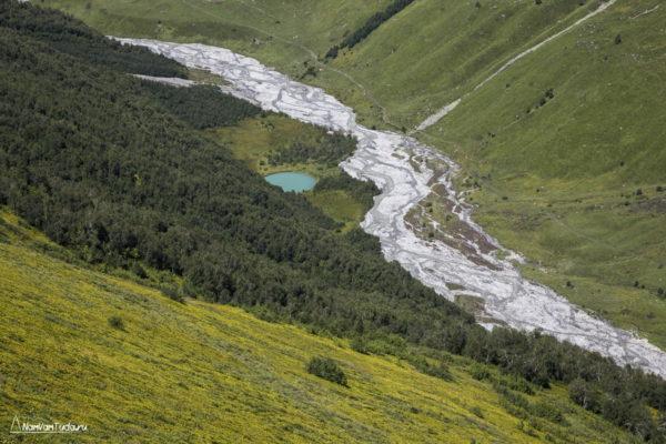Долина реки Адиши