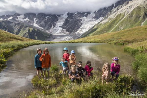 Детский поход по Сванетии