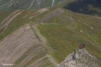 Траверс от перевала Вахушти