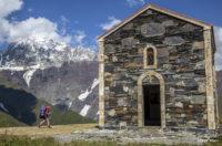 Церковь на фоне Айламы