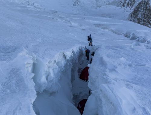 Фото галерея Жизнь в ледниковых трещинах