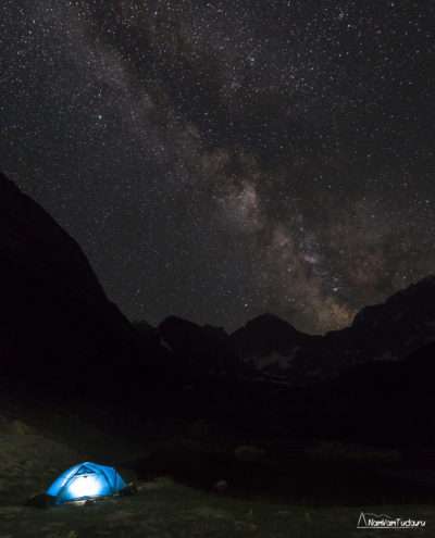 Звездное небо в долине Ашата