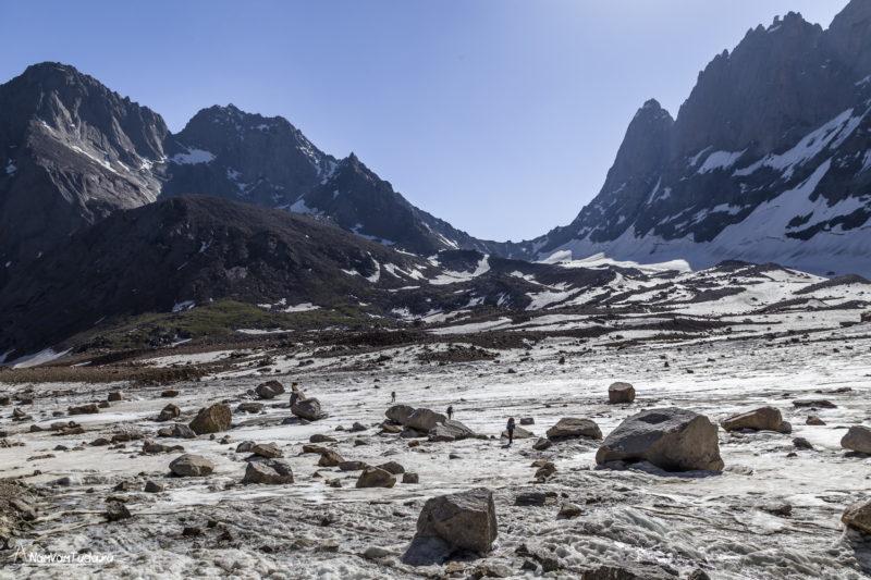На леднике Ашат