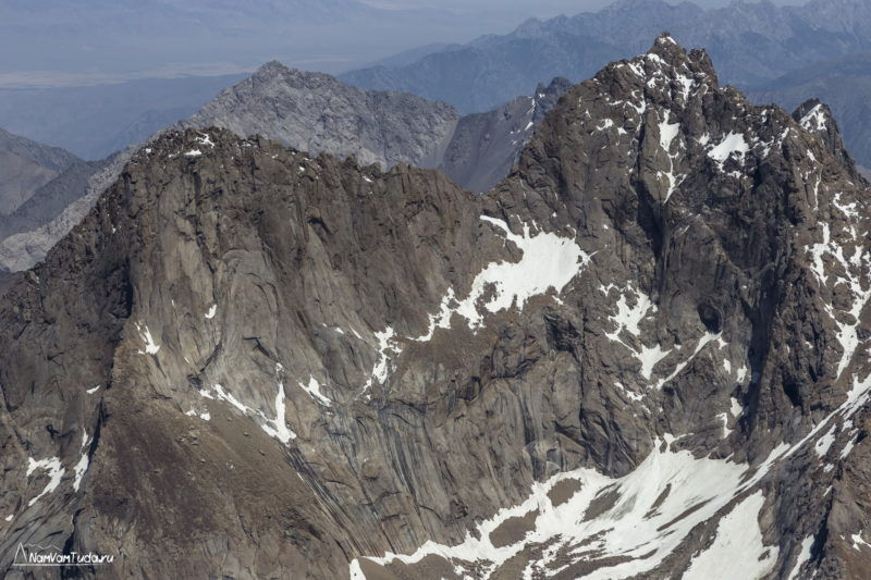 Вершина Парус с севера
