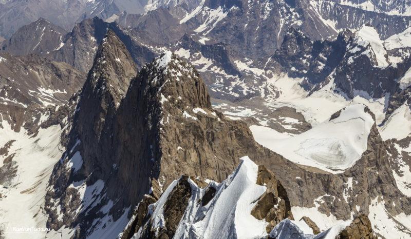 Ашатская стена с вершины Сабаха