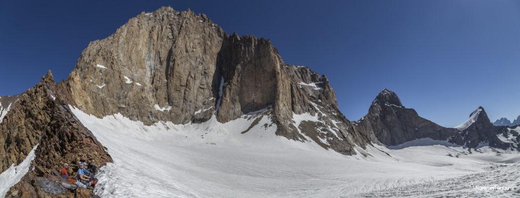 Ашатская стена с юга