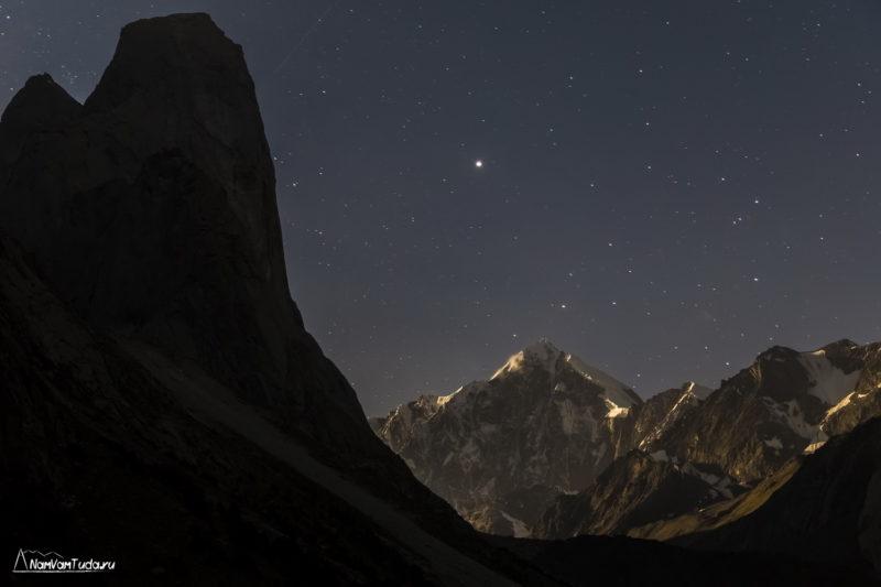 Ночь в долине Карасу
