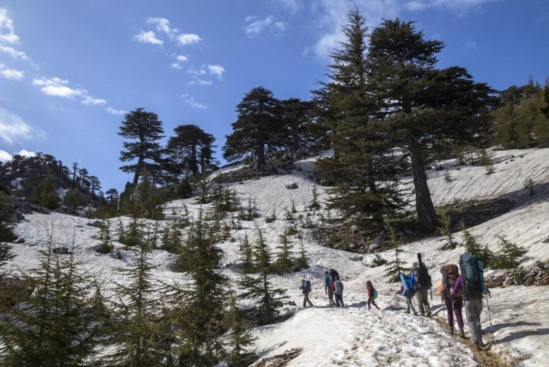 В мае на Тахталы снежно